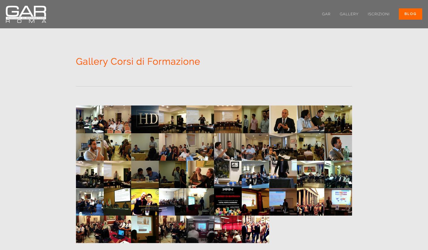gallery sito gar