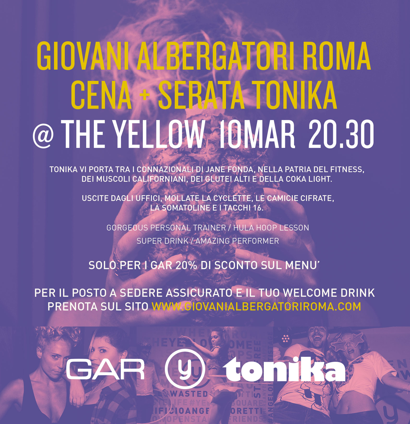 Flyer GAR @ The Yellow