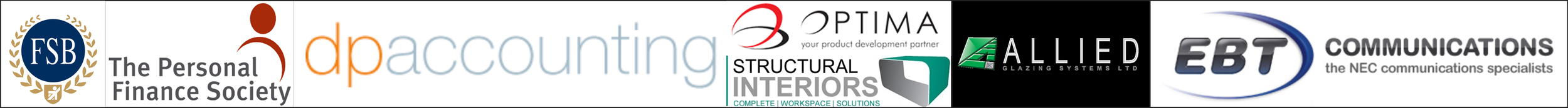 Federation of Small Businesses-The Personal Finance Society-EBT-Structural Interiors-Optima-DP Accounting