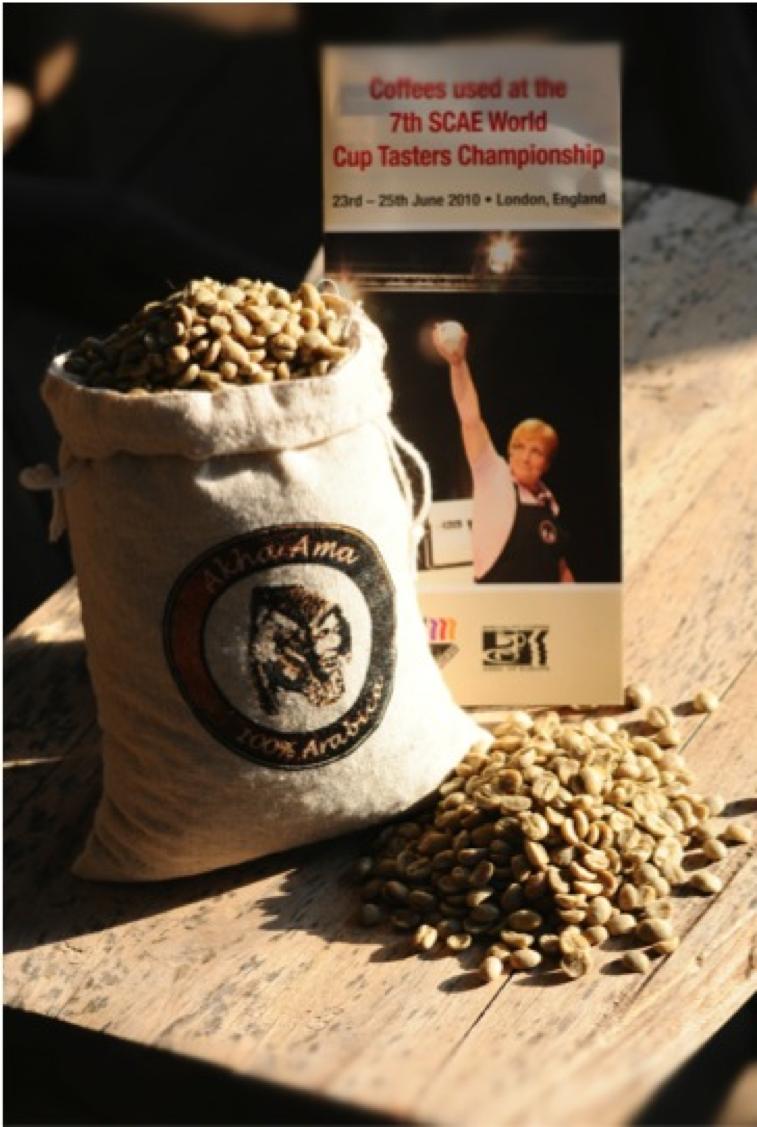 Akha     Ama   Coffee, Ethnic Coffee,   Production:   Akha     Hill Tribe,   Maejantai   Village, Northern   Thailand;  Coffee Shop: Chiang Mai, Thailand     Photoby Chukiat     Waysaradchapong