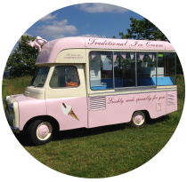 vintage ice cream van hire kent