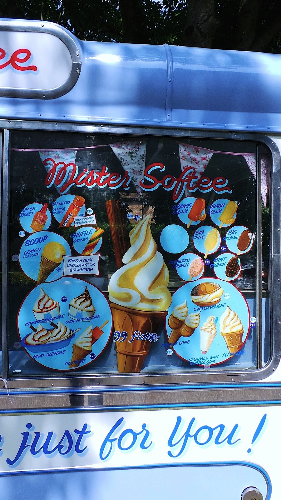 Ema - vintage ice cream van hire, Kent