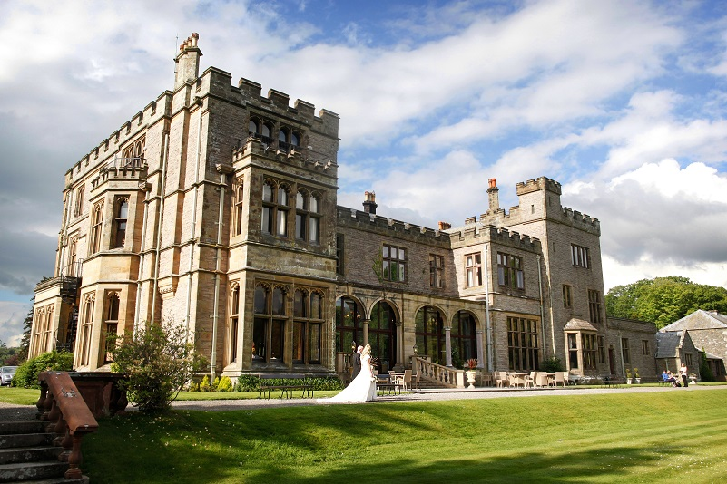 The beautiful Armathwaite Hall Country House is one of the most picturesque places to get married in the Lake District