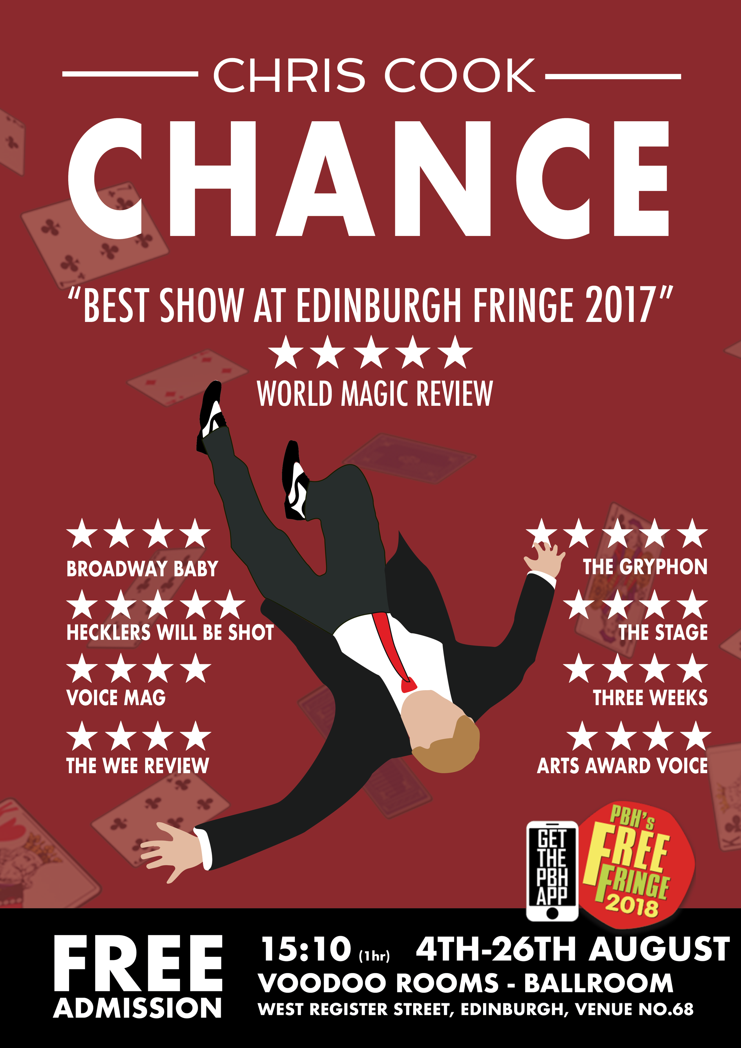 chris cook: chance poster magic