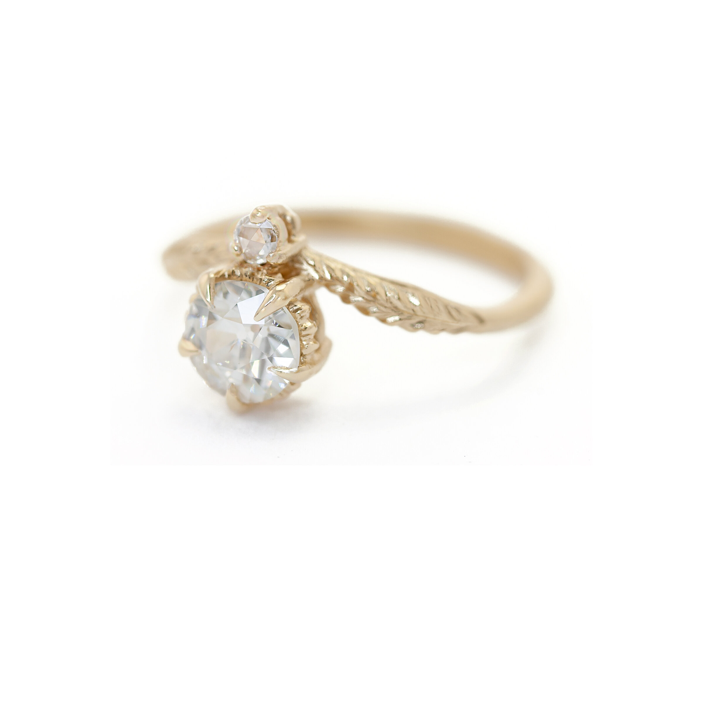 Limited Collection Evergreen Tulip Ring (LC5354)