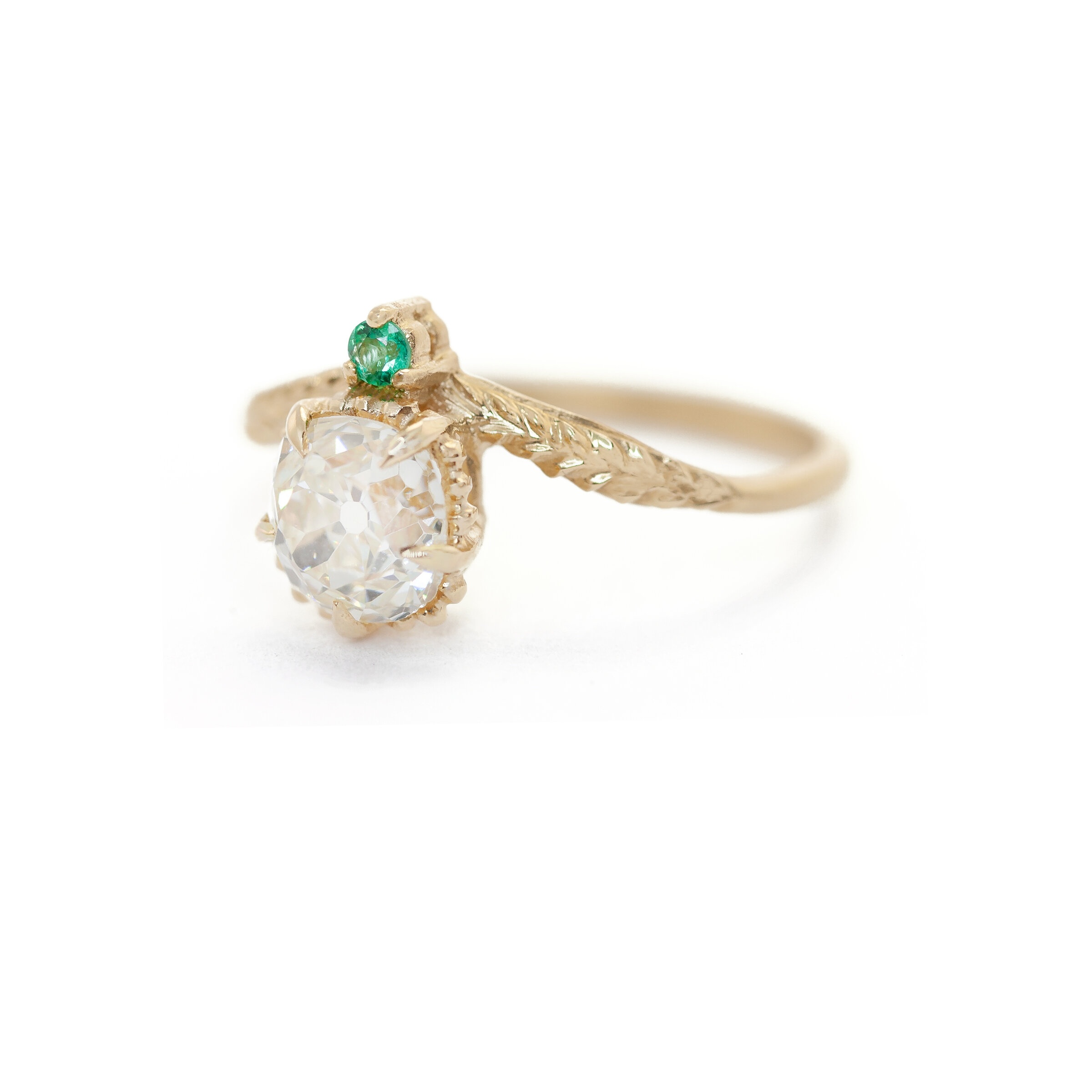 Limited Collection Evergreen Tulip Ring (LC5414)