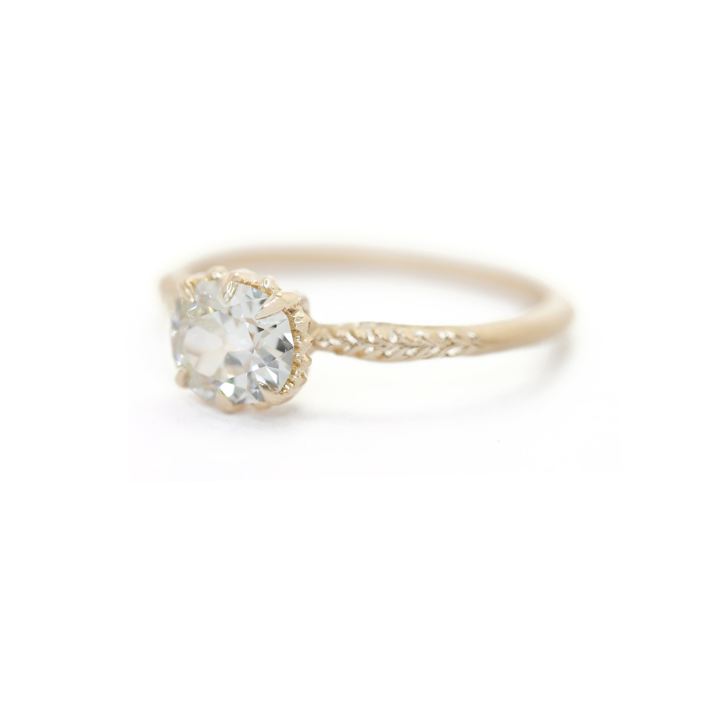Evergreen Solitaire Ring (MT5412)