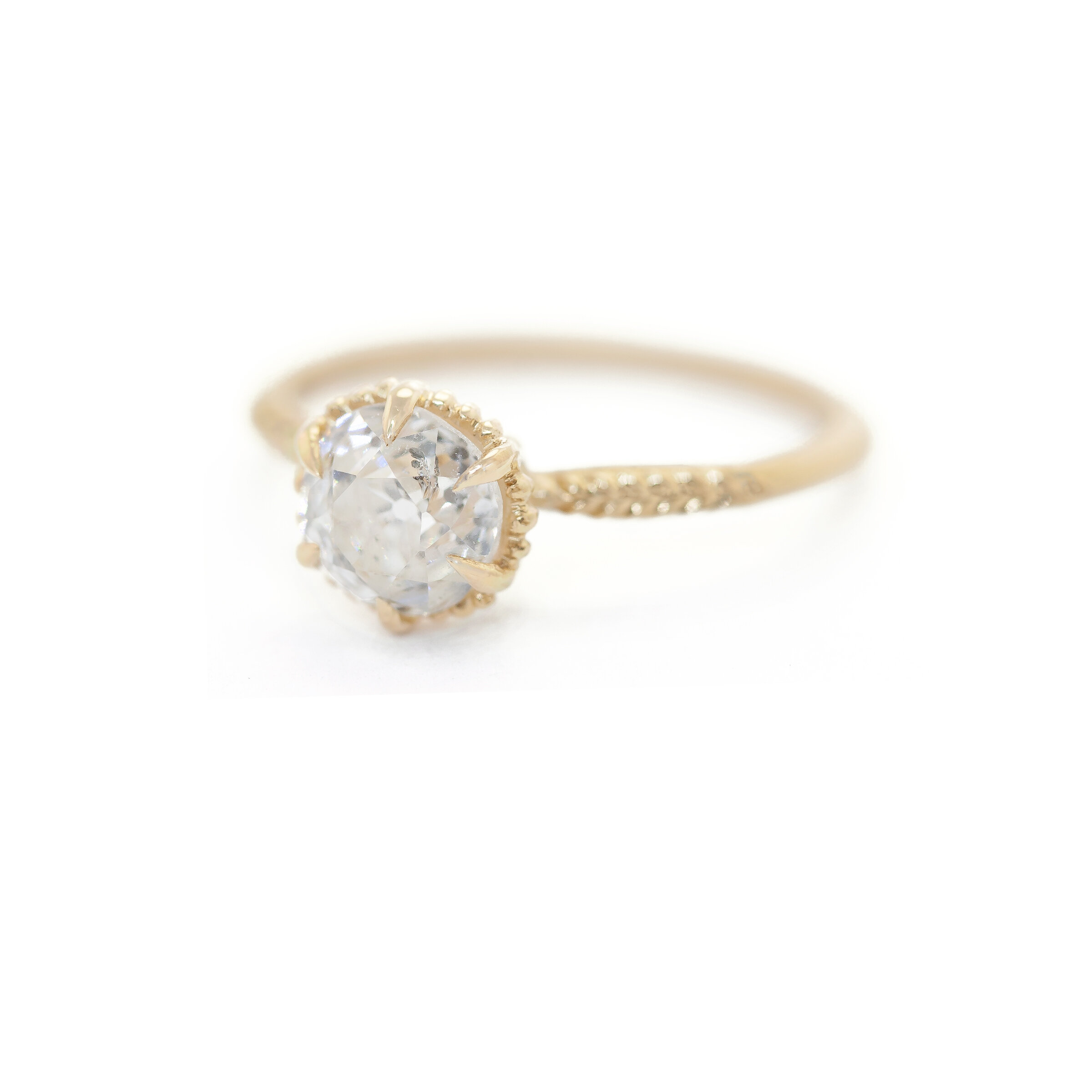 Evergreen Solitaire Ring (MT5413)