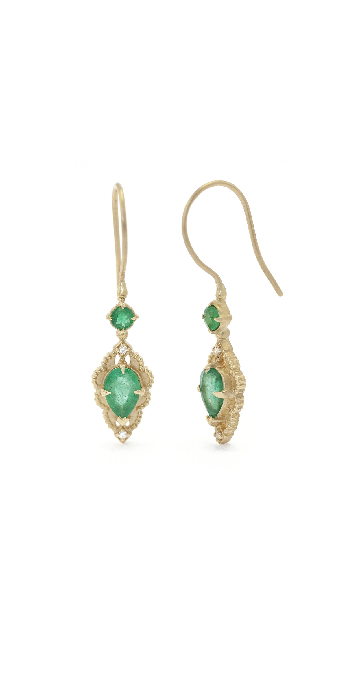 Limited Collection Venise Frame Drop Earrings (LC4899)