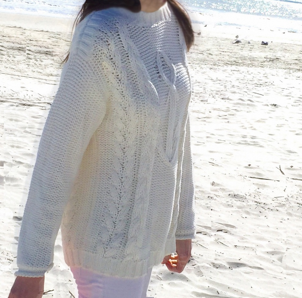 Saltwater Anchor Cable Knit Sweater