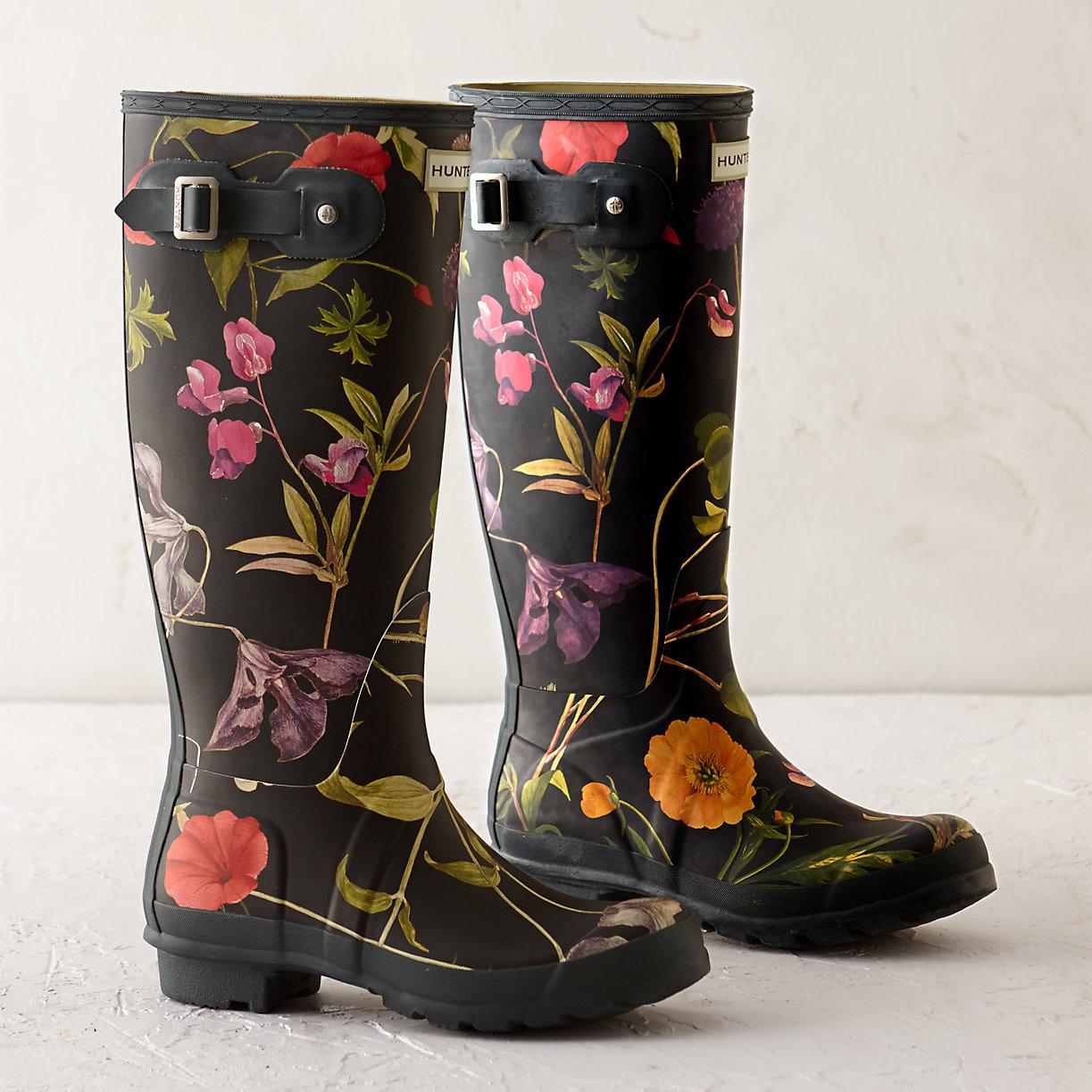 Floral Garden Boots