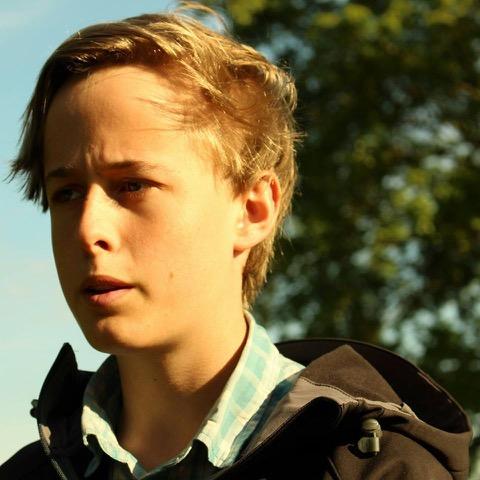 Julius Eberhard, katteelev och styrelseledamot för Grön Ungdom Lund