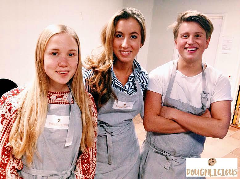 Maria, Rebecka och Axel driver Doughlicious UF