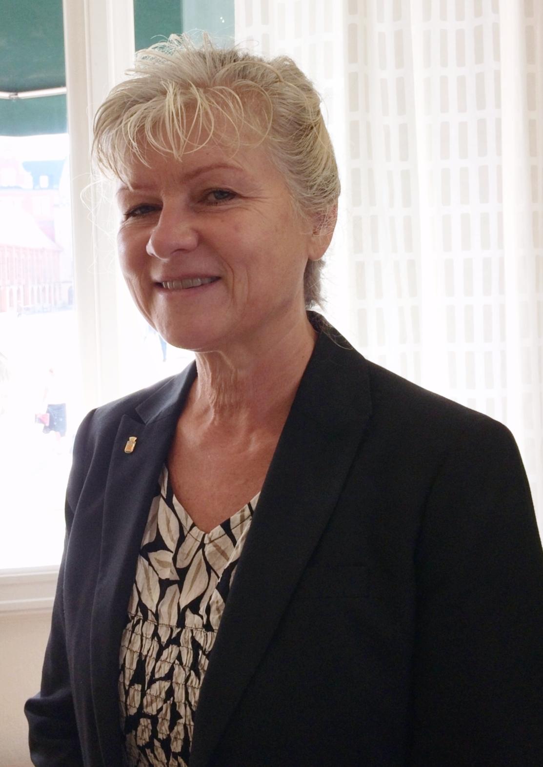 Ingalill Fritzon, Katedralskolan Lunds nya rektor. Foto: Julia Rehn