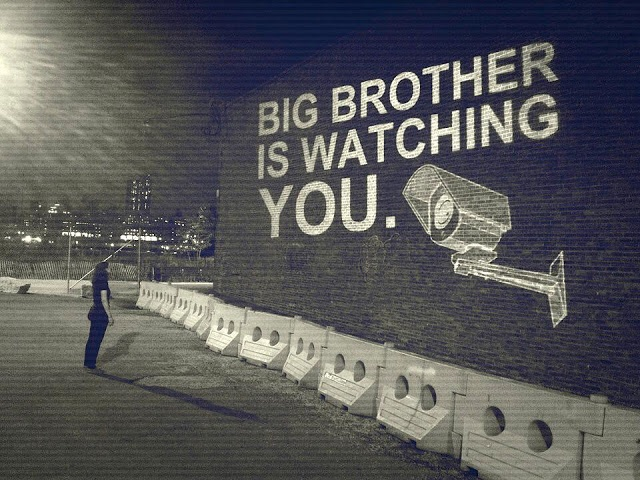 """The book 1984 predicted a future where the government could follow every single step of the citizens. """"Big Brother"""", as the government was called in the book, is now a symbol for the surveillance state."""