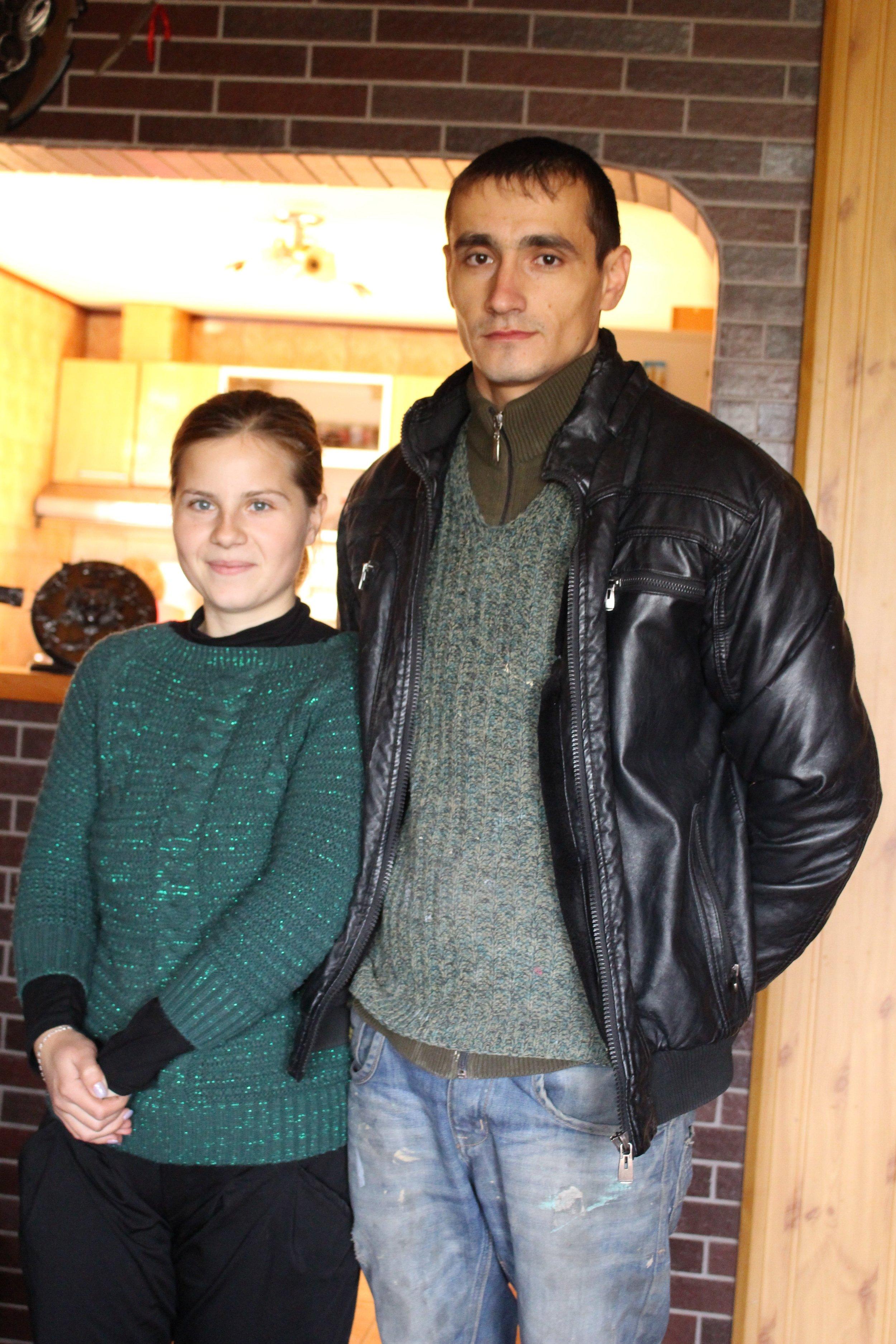 Sorin tillsammans med sin fru Veronika