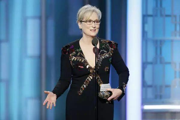 """When the powerful use their position to bully others, we all lose""                                         Meryl Streep at the 75th Golden Globe Awards"