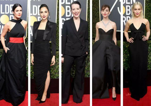 Gal Gadot in Tom Ford (second from left)