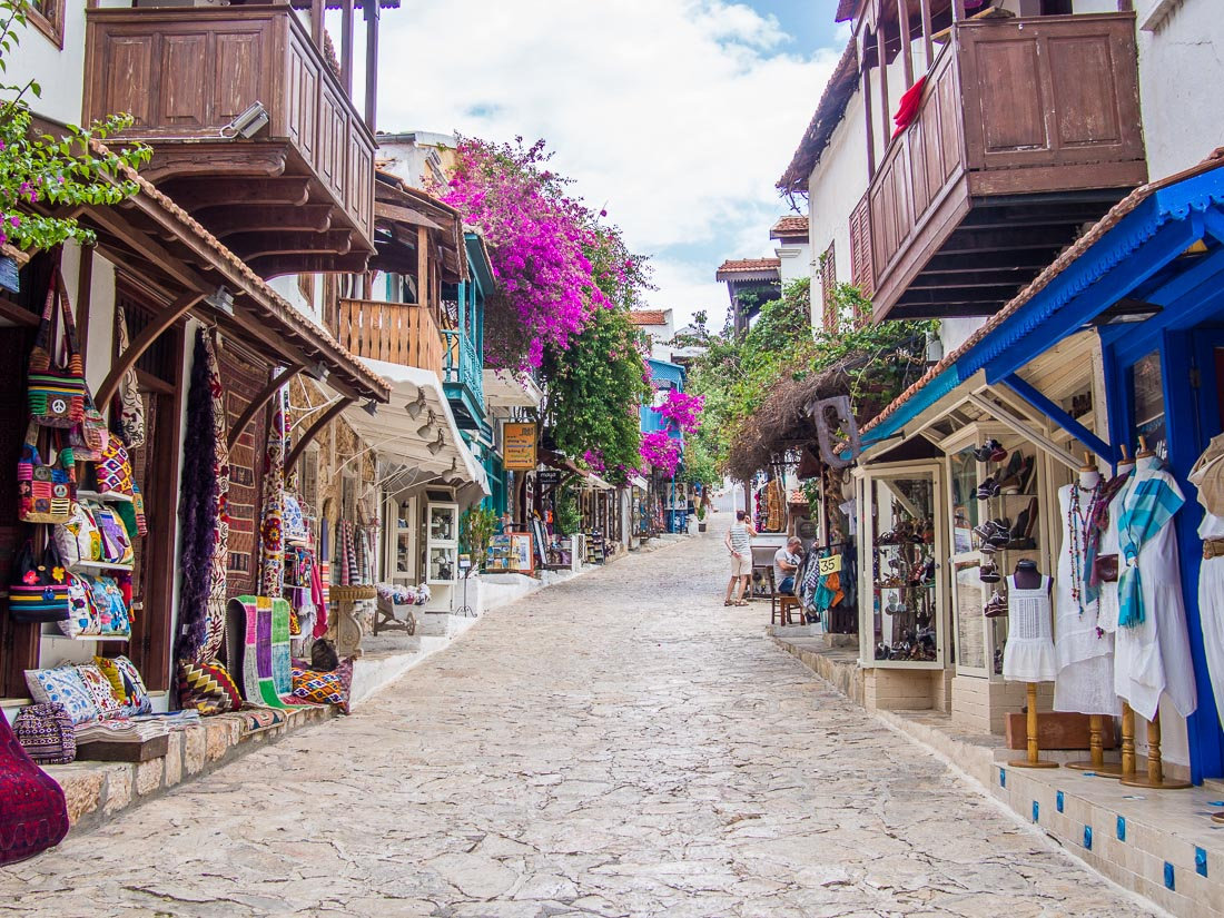 The pretty shops of Kas