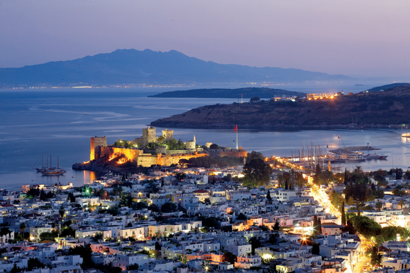 Bodrum looking shiny.
