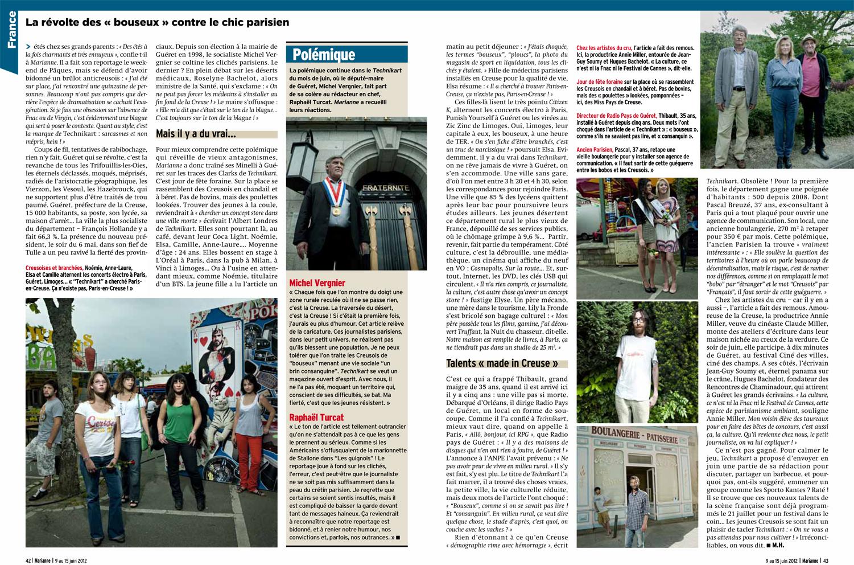 article marianne - juin 2012 - la révolte des bouseux contre le chic parisien-2.jpg