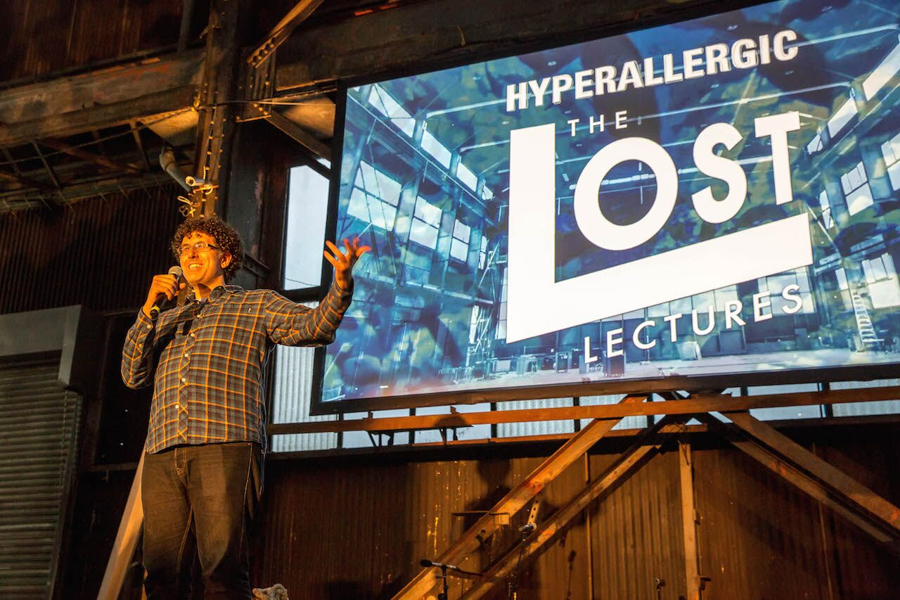 Lost Lectures @ Brooklyn Navy Yard Agger Fish Warehouse