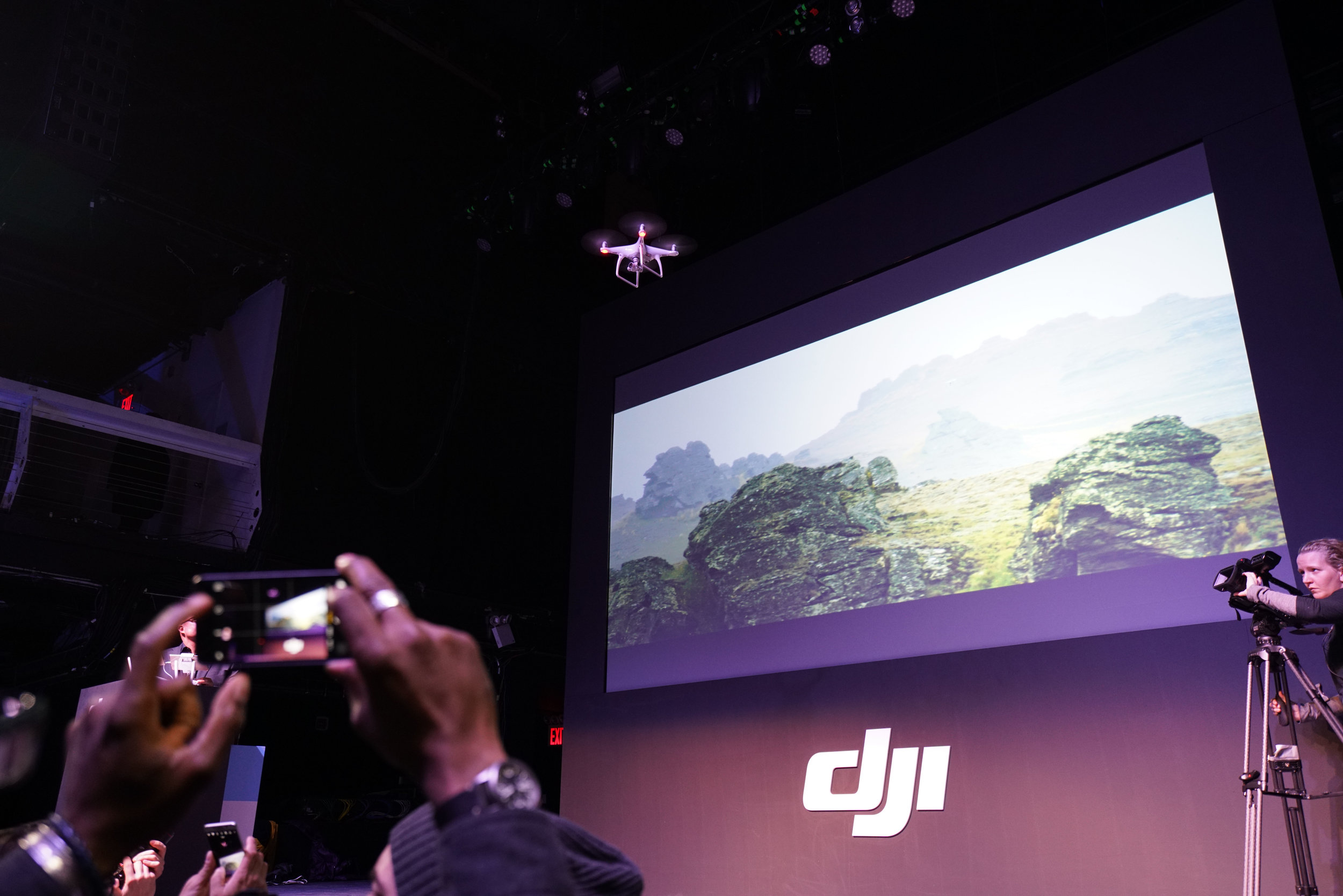DJI Phantom Drone Obstacle Course @ Terminal 5