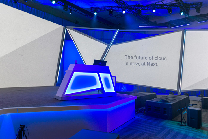 Google Cloud Next 19 General Session Stage