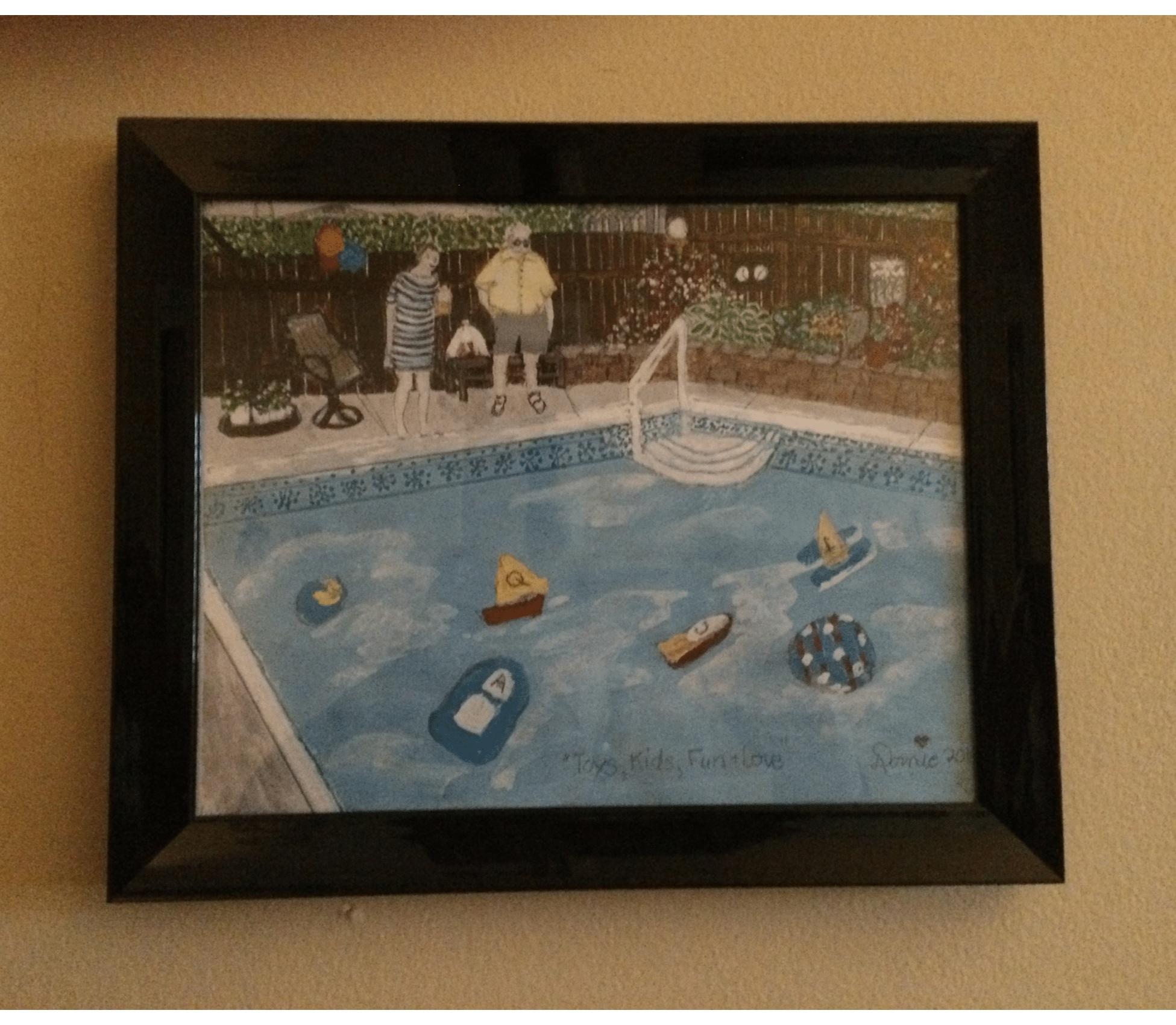 'Poolside Race'