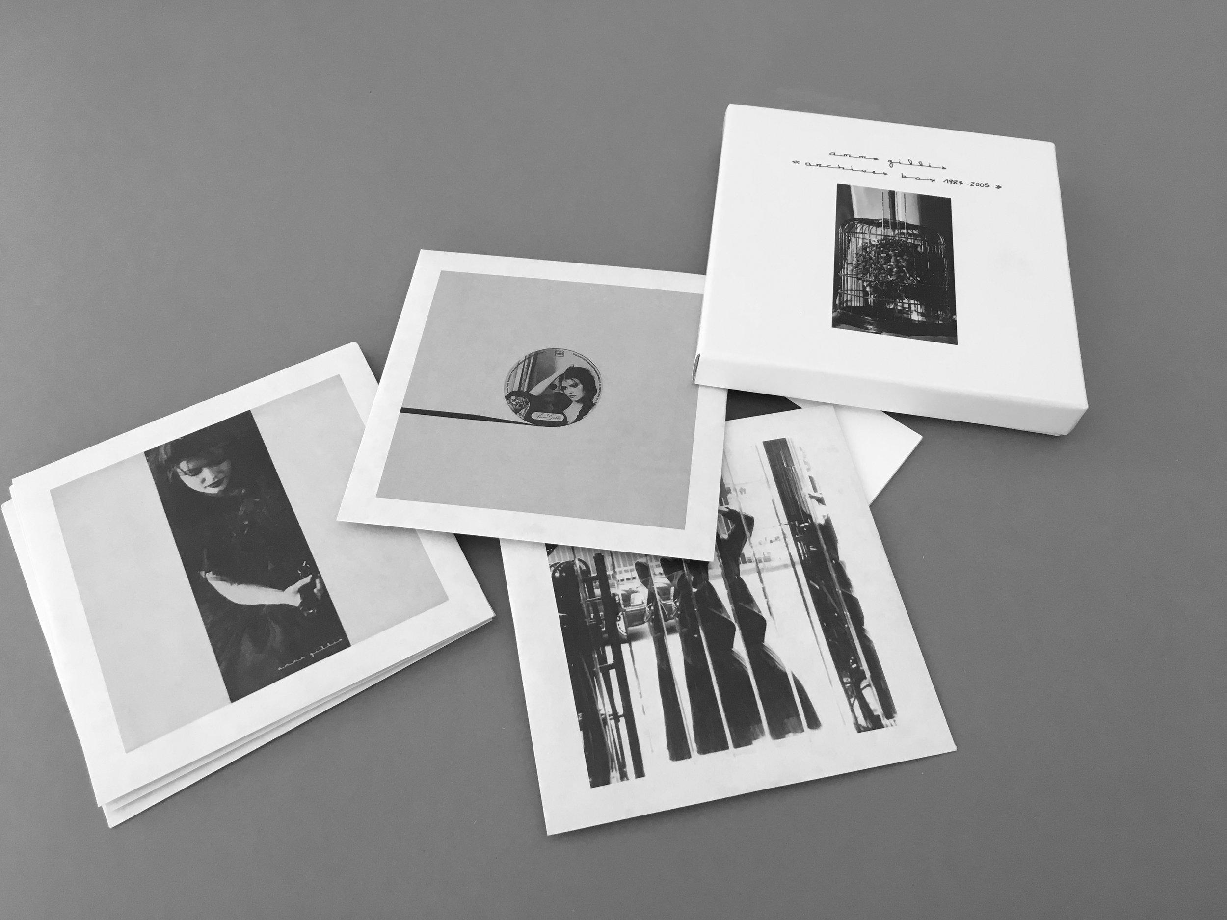 Anne Gillis - Archives Box 1983-2005CD Box Set_2015Art Into Life