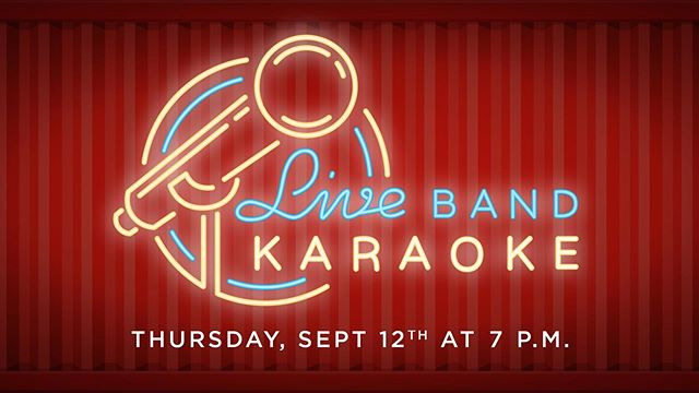 Weekend starts early tonight w/@boxiparklakenona and @runforcoverorl ! Be our new lead singer! . . . . . . . . #boxipark #boxiparklakenona #lakenona #orlando #karaoke #livemusic #liveband #band #thursdaynight #datenight #weekend #music