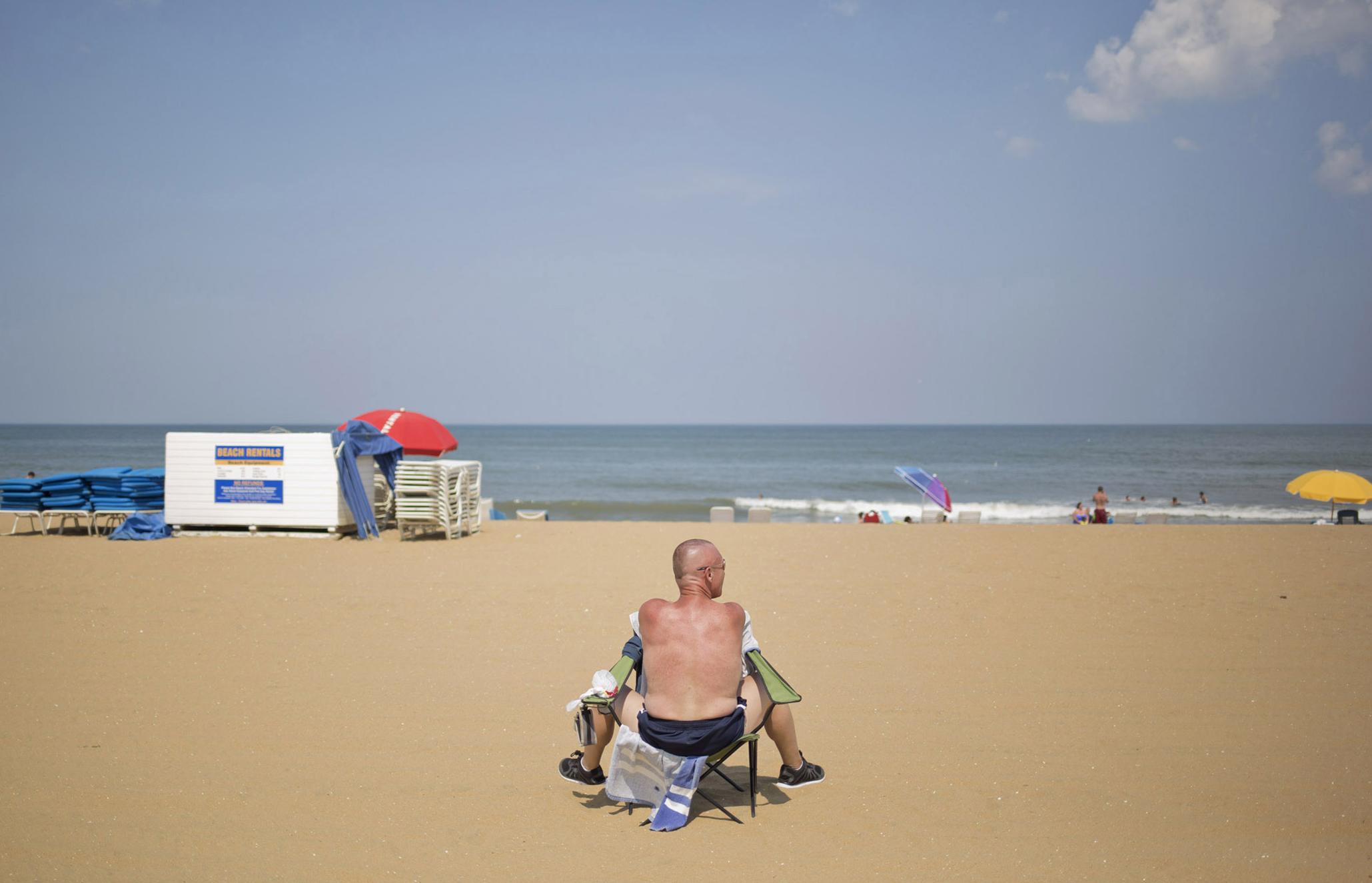 106 Degrees. Virginia Beach, Virginia.