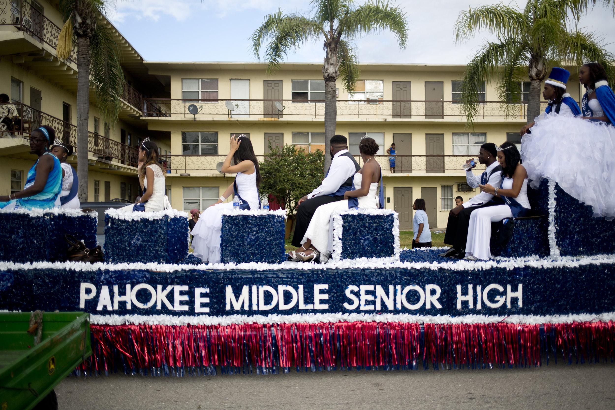 Pahokee Homecoming Parade. Pahokee, Florida.