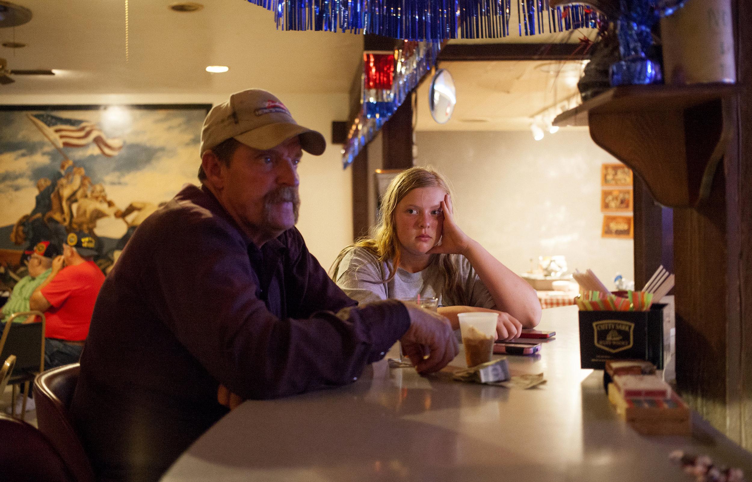 Friday night at the Vets Club. Valentine, Nebraska.