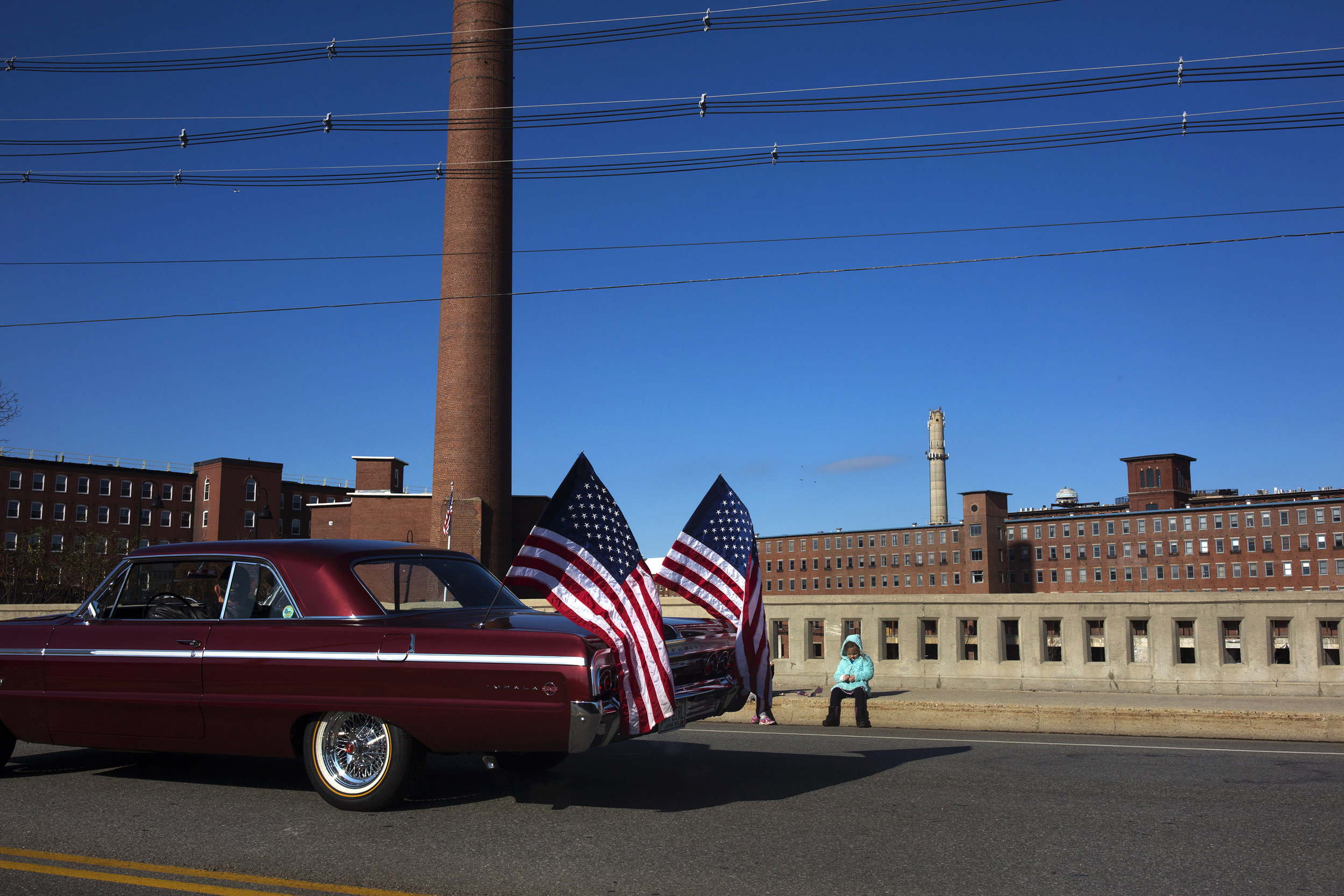 Veterans' Day Parade. Biddeford, Maine.
