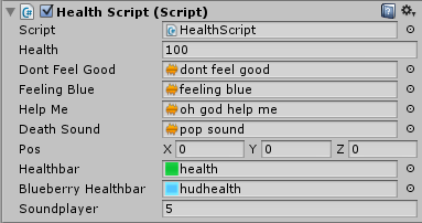 Sounds applied to every player. Sound changed to 2D to increase sound levels