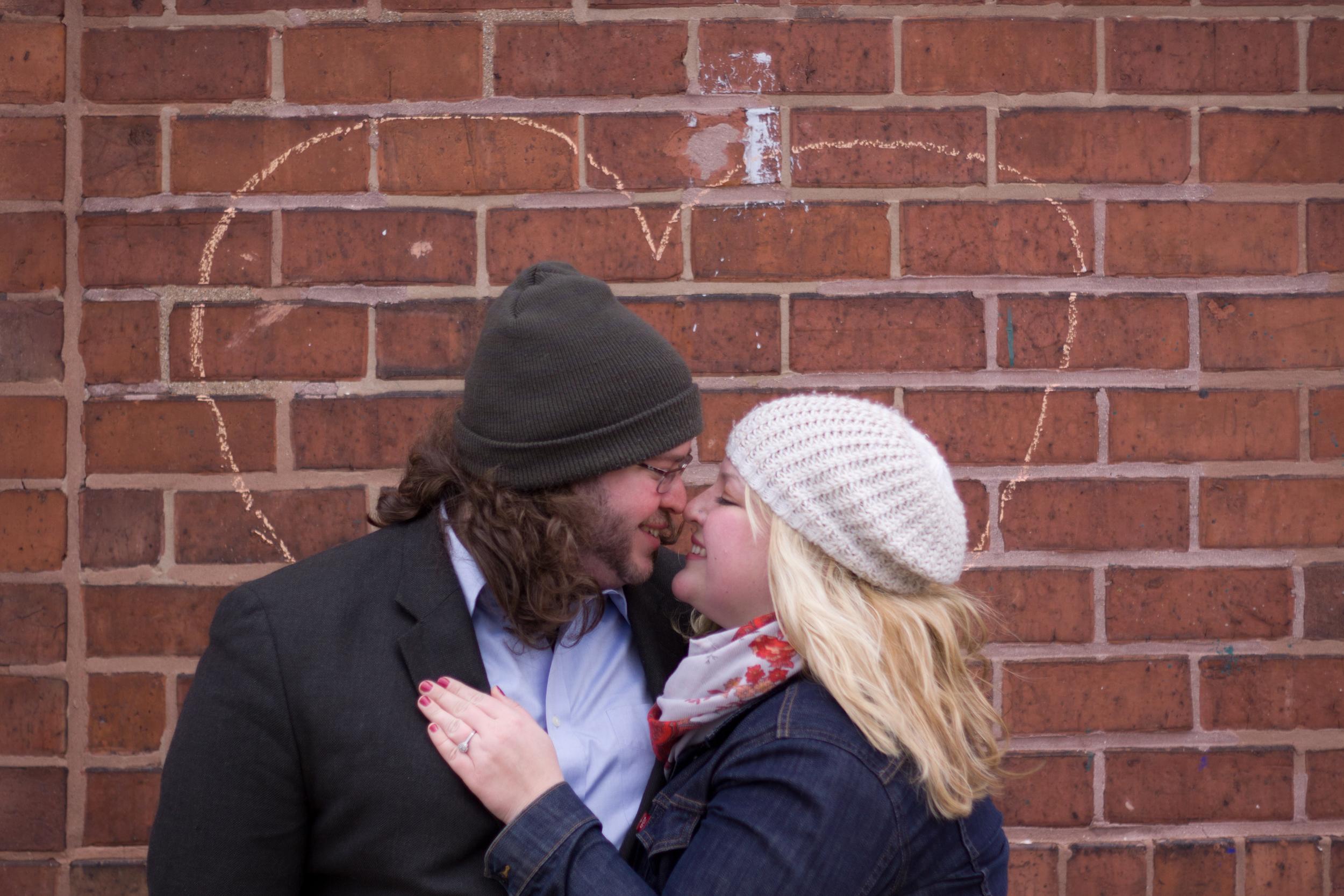 Melanie + Dan:  A Ravenswood Engagement Session