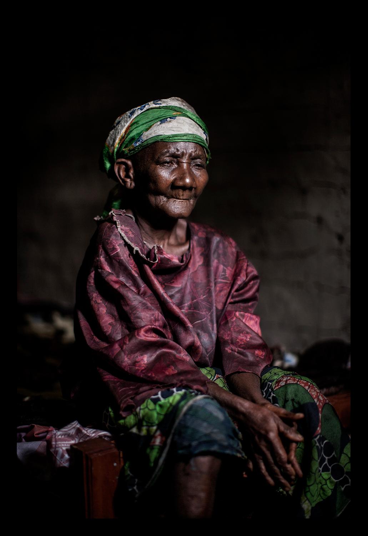 A Pygmy woman
