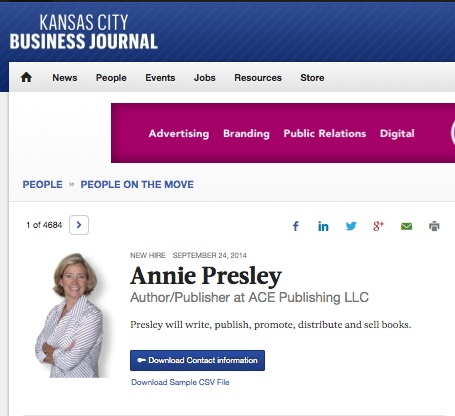 Kansas City Business Journal – Annie Presley