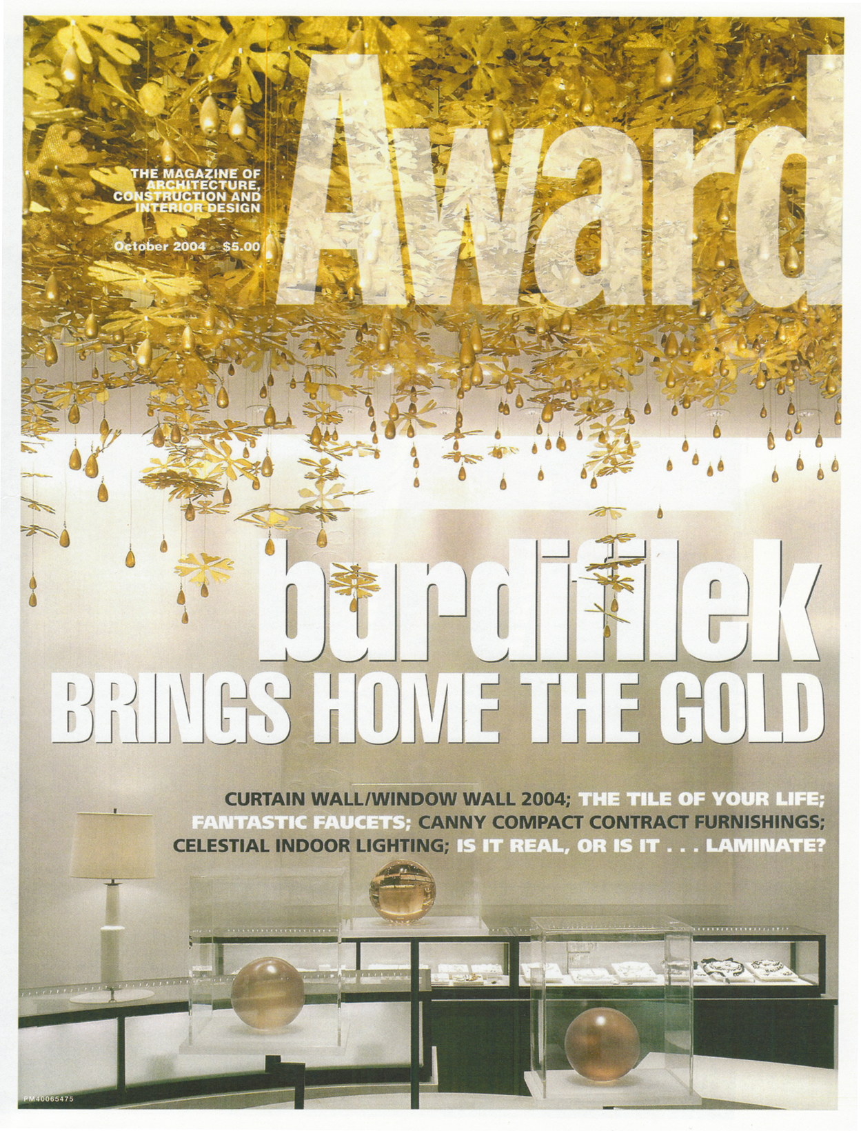AWARD MAGAZINE - HOLT RENFREW - 2004
