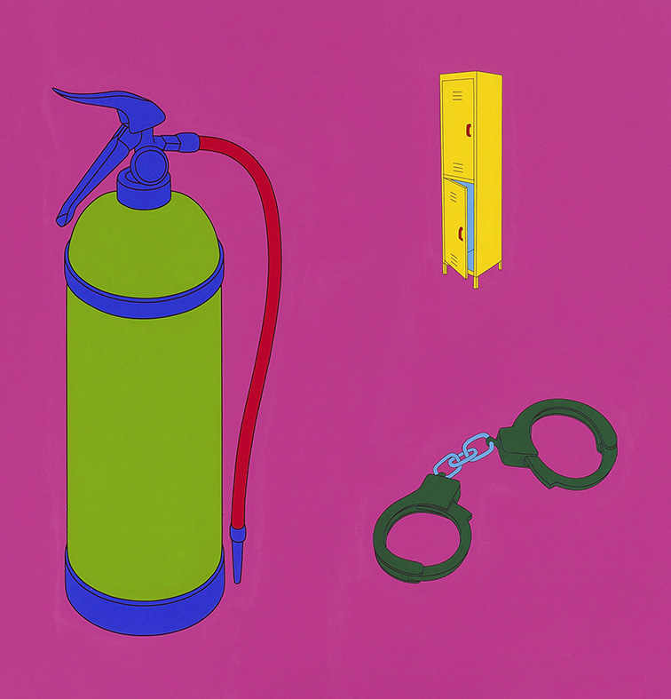 Innocence and Experience (fire extinguisher)