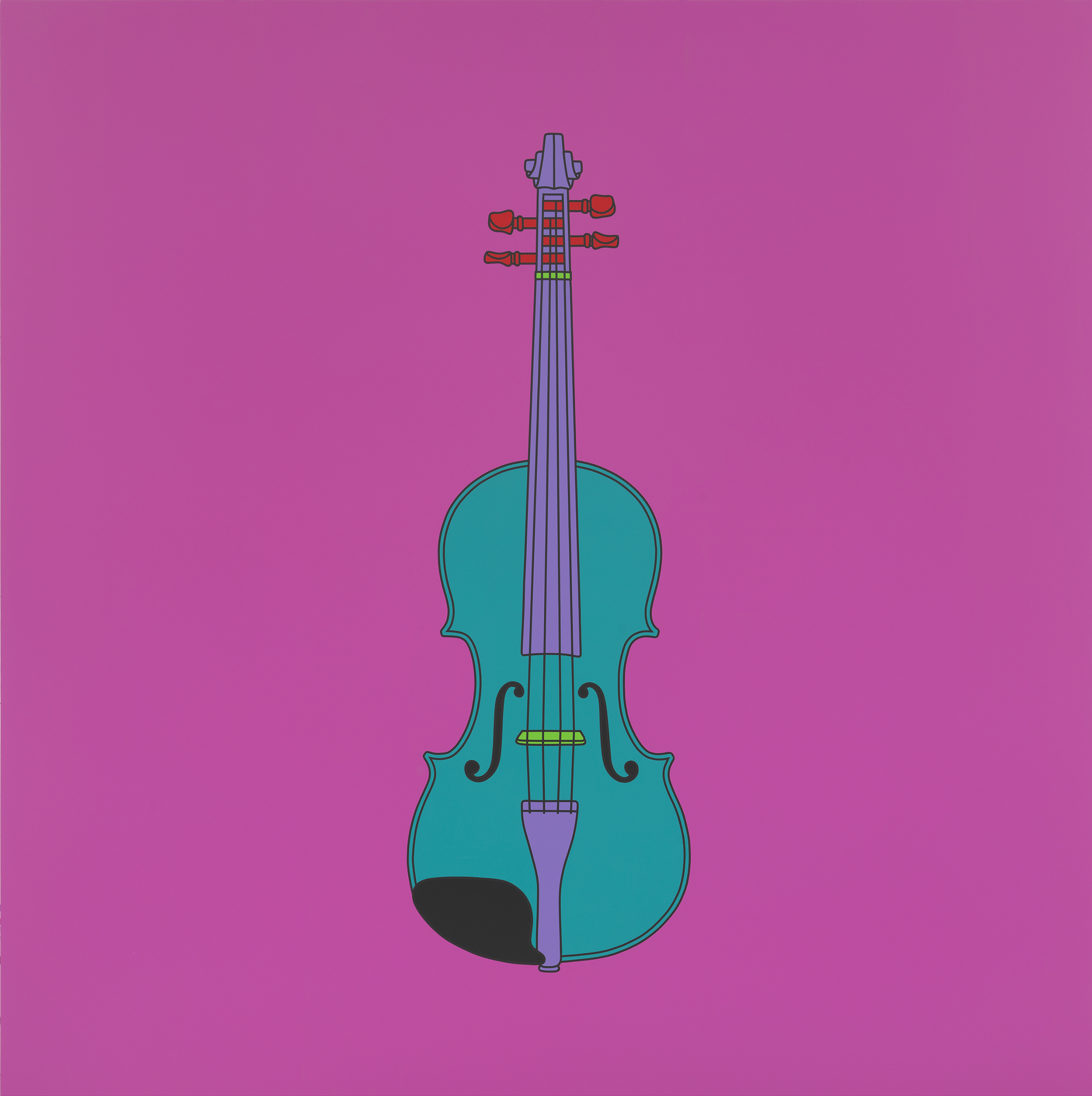 Untitled (violin), 2015
