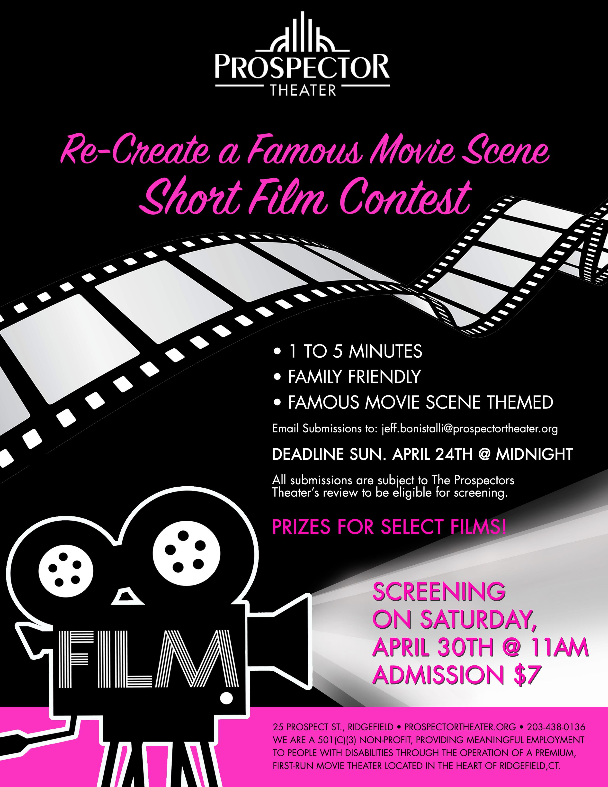 Recreate a Famous Scene Contest