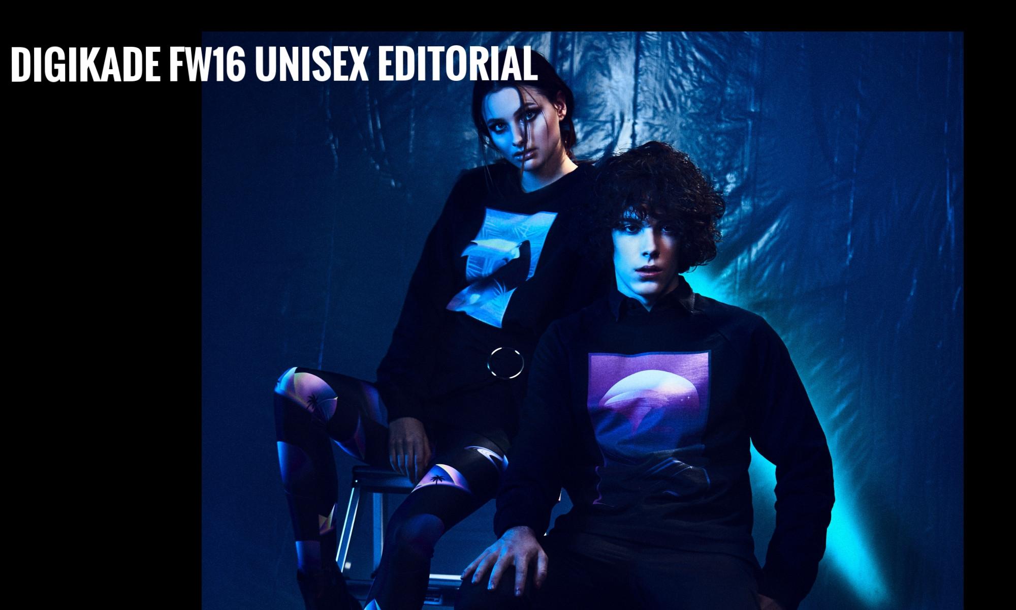 DIGIKADE FW16 UNISEX EDITORIAL