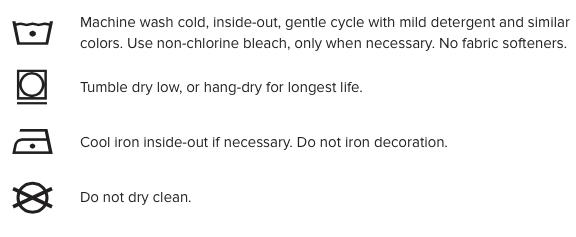 Akade shirt handling Instructions