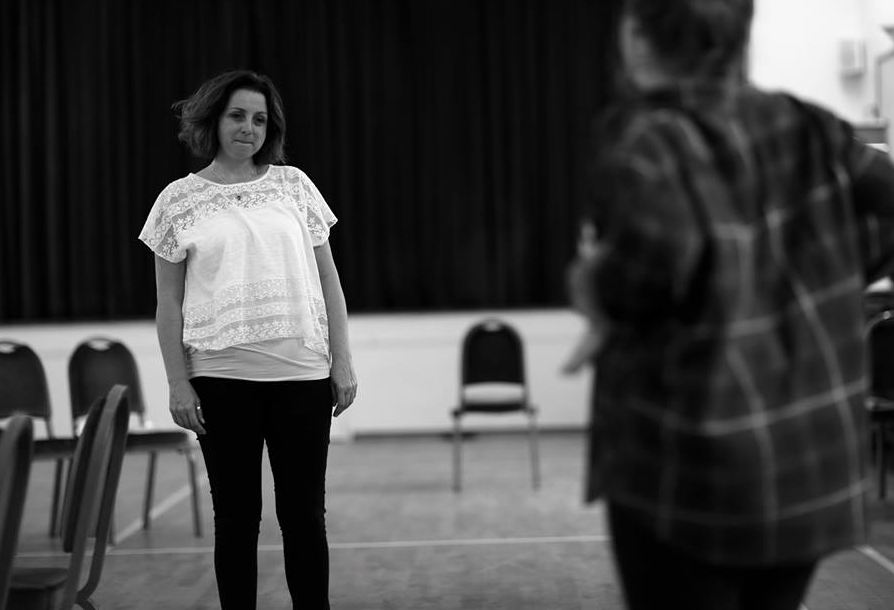 Maria in rehearsal  (Photo courtesy of  Front of House Photography  )