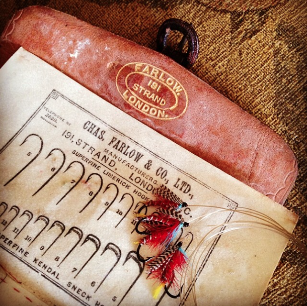 Old Farlows Fly Wallet