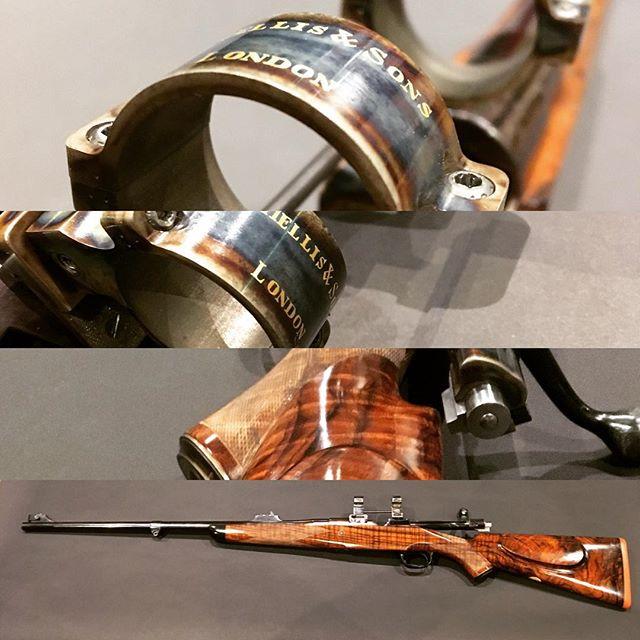 A thing of beauty. #charleshellis #gunporn #rifle #stalking #safari #game #hunting #RJBlackwall