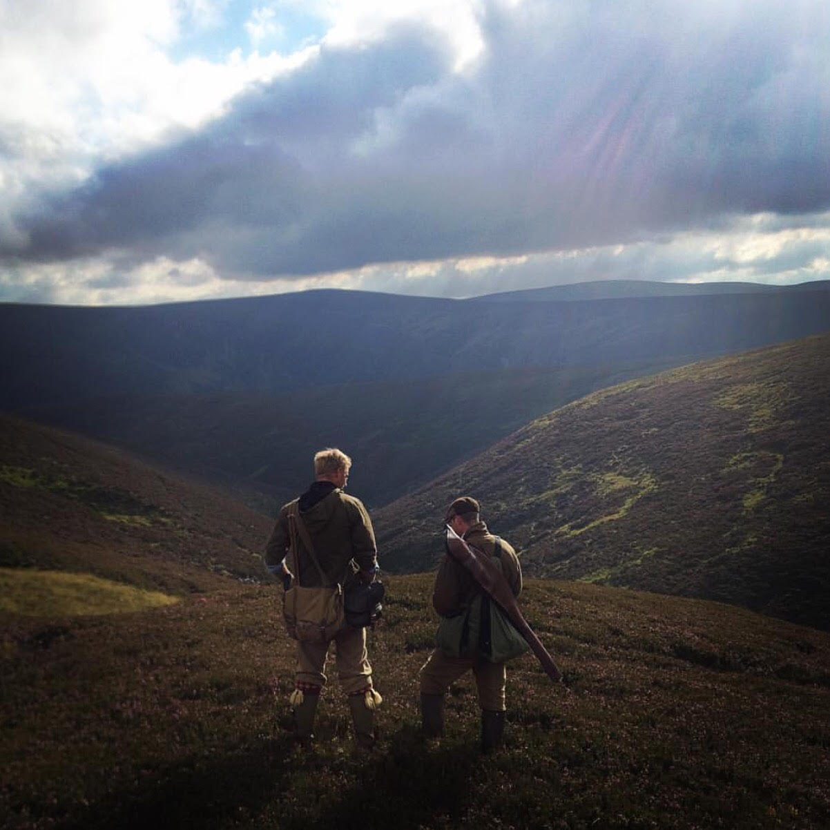Stalking In The Highlands