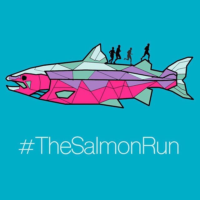 @thesalmonrun2019 are a group of Army veterans running 4 marathons in four days to raise money for the Missing Salmon Project 🐟. If you have time please take a look and find out why the Atlantic Salmon may soon be on the endangered list. #missingsalmonproject #thesalmonrun